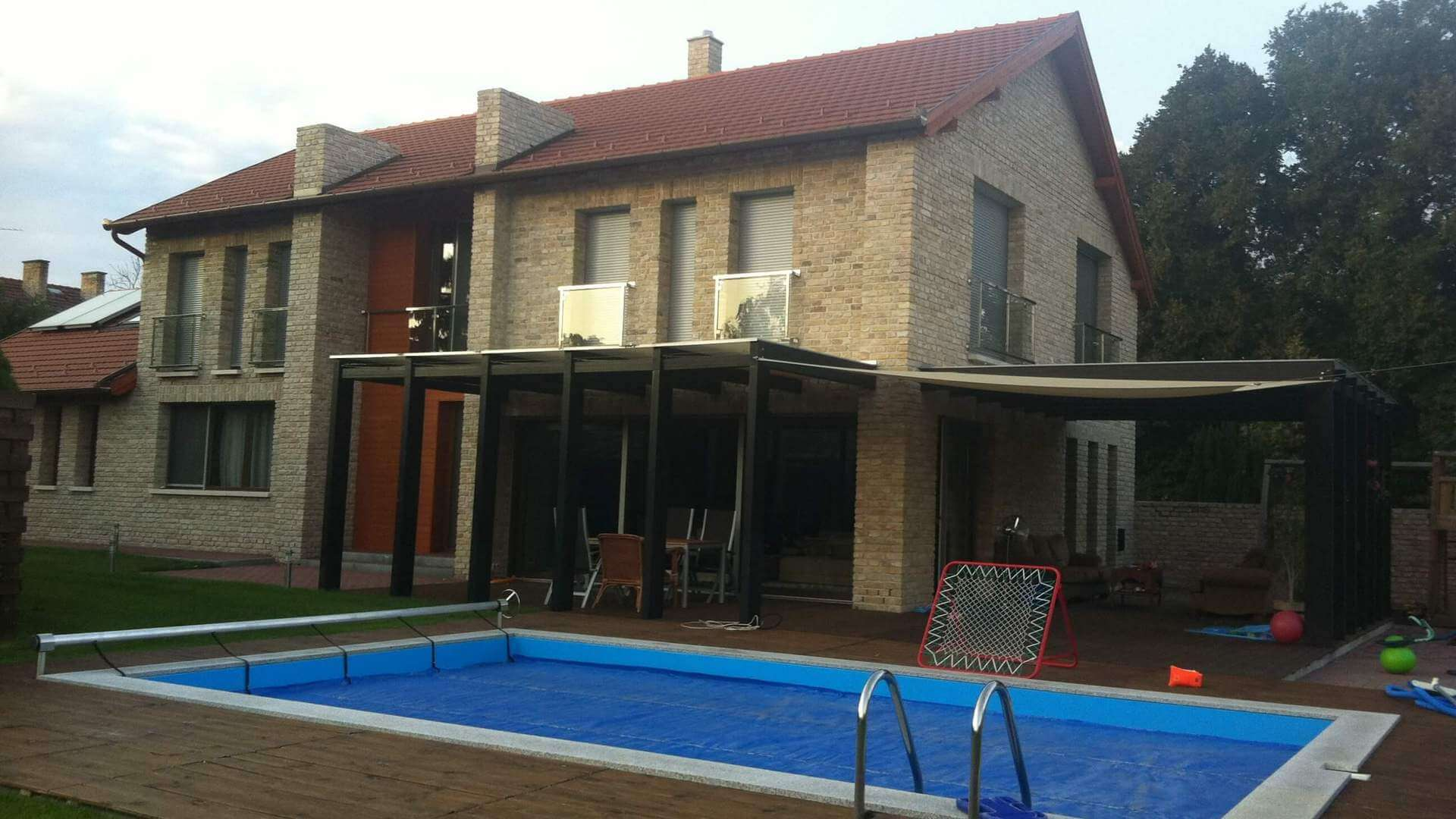 Villa with pool